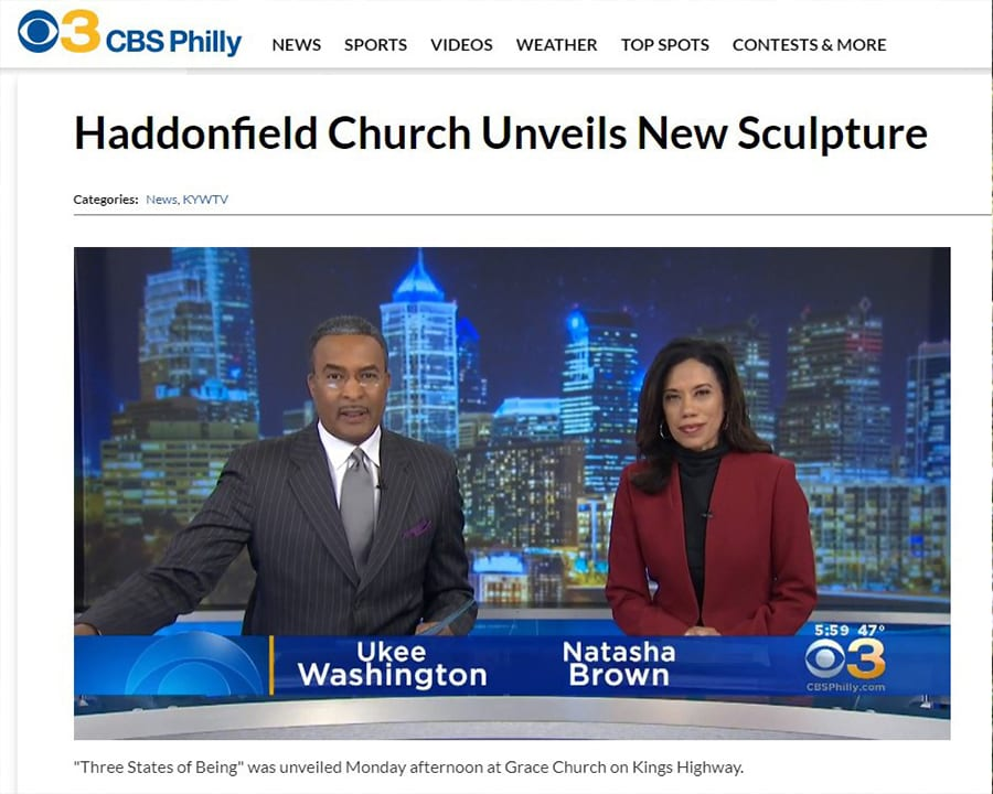 Haddonfield Church Reveals New Sculptures
