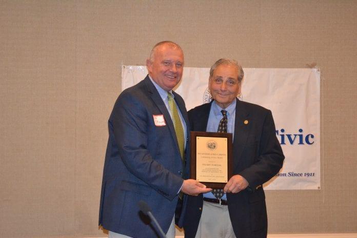 Haddonfield Civic Association's coveted Alfred E. Driscoll Award
