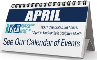 "HOST Celebrates 3rd Annual ""April is Haddonfield Sculpture Month"""