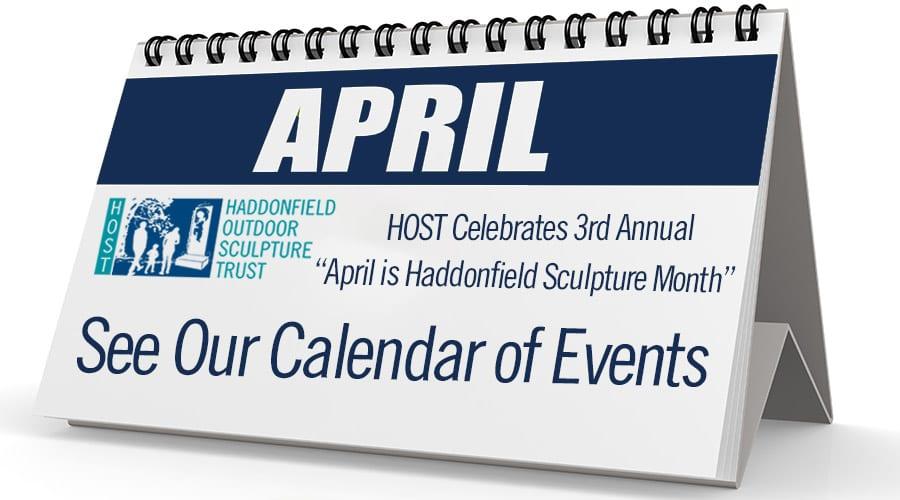 "HOST Celebrates 3rd Annual ""April is Haddonfield Sculpture Month"""