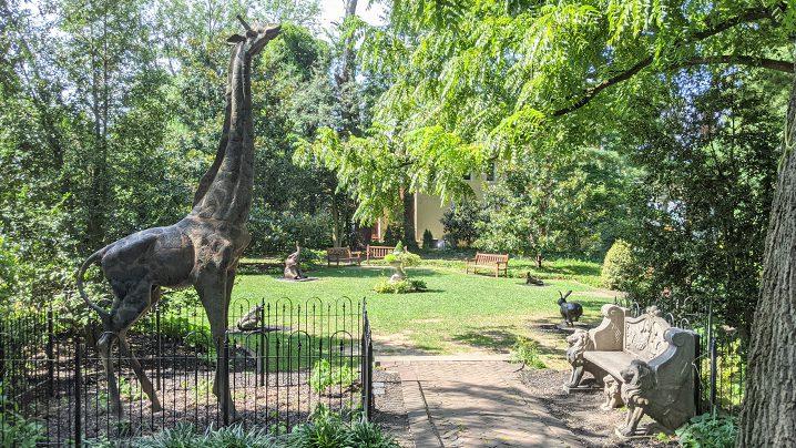 Children's Sculpture Zoo Eric Berg's Sculptures For Sale