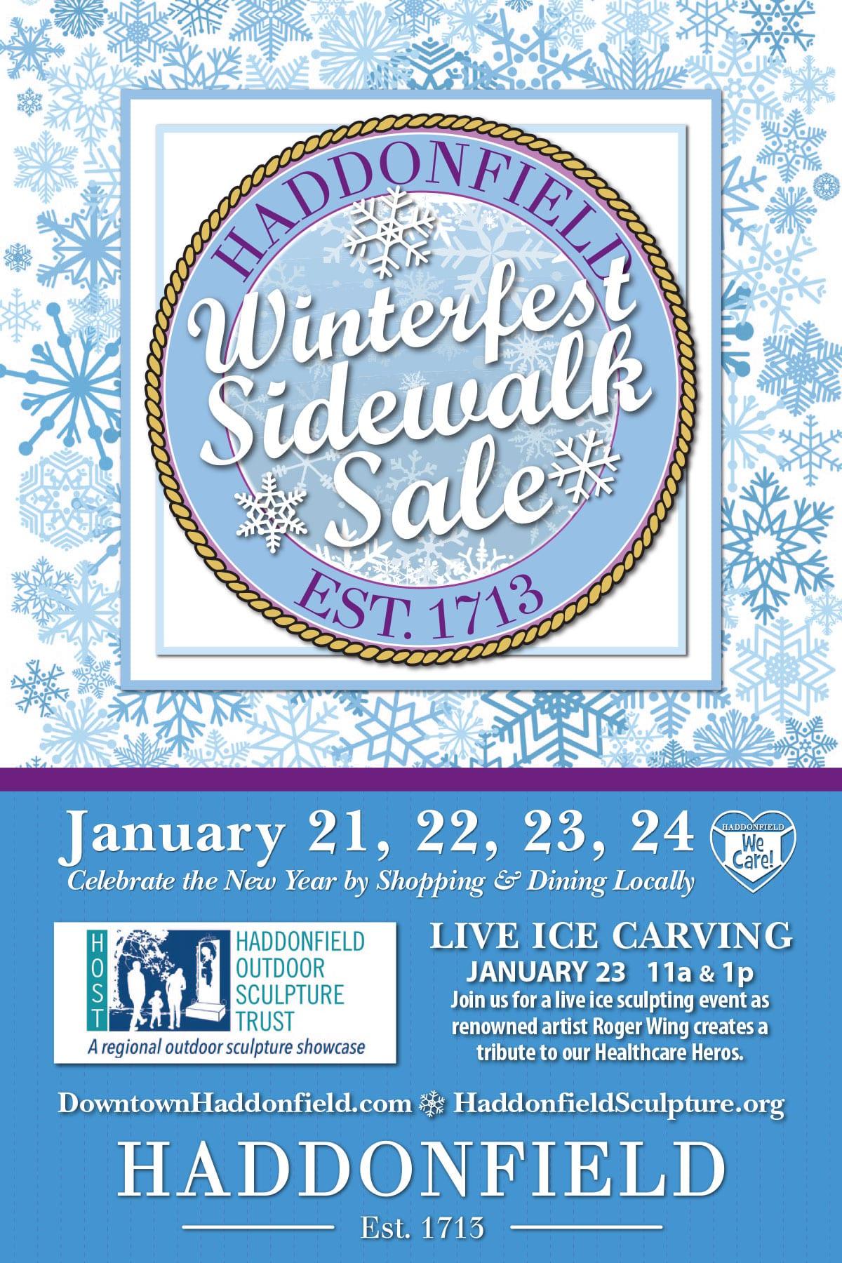Winterfest Sidewalk Sale 2021