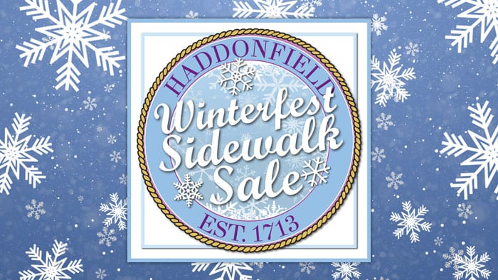 Haddonfield Winterfest Sidewalk Sale